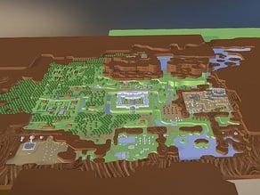 Zelda LTTP world map