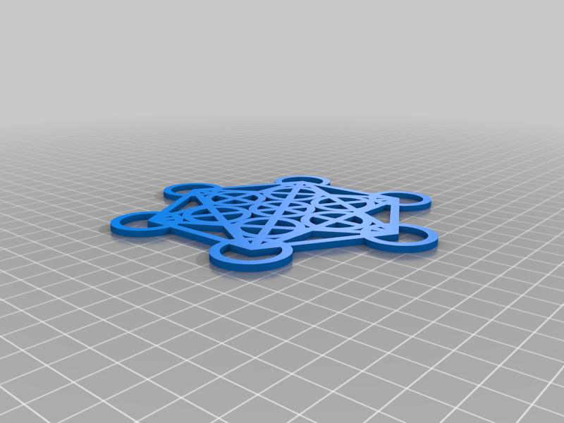 Metatron Ornament/Coaster