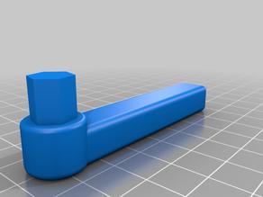 Roller blind handle 9.3mm