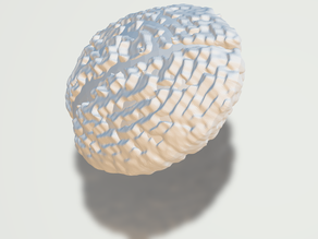 Brainball - anti-stress ball - crumple ball (TPU/FLEX)