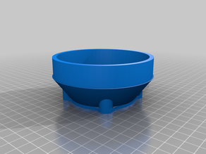 """100mm (4"""") Duct Adapter for Beam 3D Prism"""