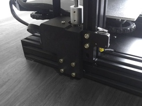 Ender 3 Z Axis Mount (For Stepper Dampeners)