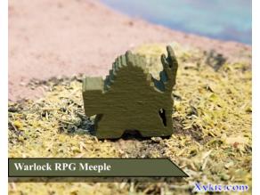 Warlock Meeple - RPG - DnD