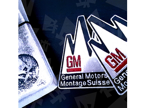 General Motors Opel Montage Suisse Badge
