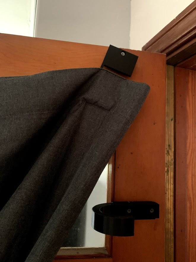 Curtain Holder and Curtain Hook