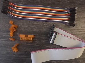 printrbot to normal reprap electronics mod and printable connector fittings