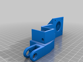 CR-10S BondTech Extruder Mount With Roller