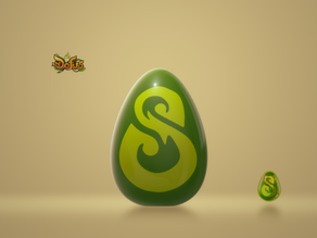 Oeuf Dofus Émeraude / Egg Dofus Emerald