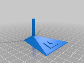 Descent model stand