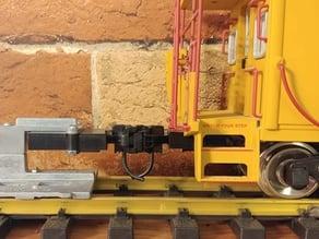 USA Trains Caboose Kadee coupler adapter
