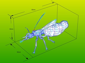 Giant ant queen for board game Fallout: Wasteland Warfare