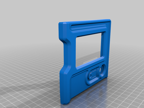 2020 extrusion adjustable mount for reprap smart controller (flsun cube)