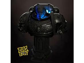 Ultramarine bust