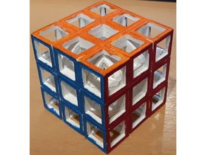 Do Not A-void Functional See-through Hollow Rubik's Cube
