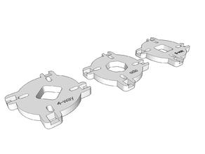 Sanwa compatible restrictor plates (Arcade Joystick)