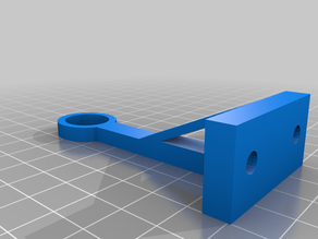Anet A8 Plus Filament Guide - Z Axis Frame
