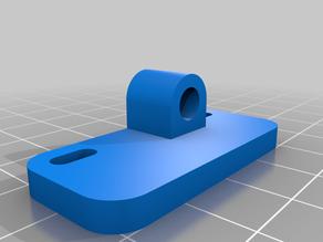 Ender 5 PLUS front filament holder