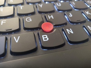 Concave Trackpoint for Newer Thinkpads