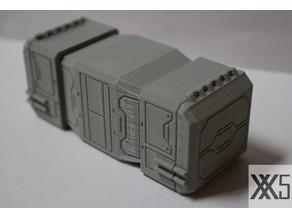Star Wars Legion scale Medium Cargo Container