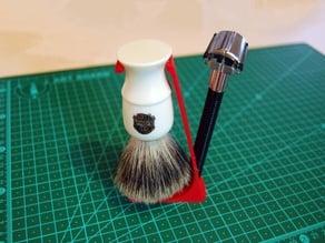 DE Razor & Brush Stand