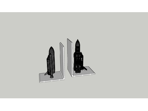 Space Shuttle Bookends