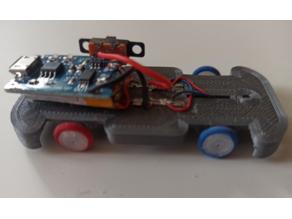 Hotwheels car with motors