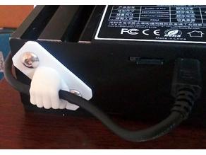 USB Cable Holder Fist for Ender 3 Extruded Frame
