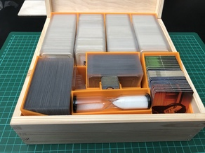 Codenames - Organizer for all cards sleeved (Duel, Deep Undercover, card packs)