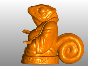 Chameleon Buddha (Animal Collection)