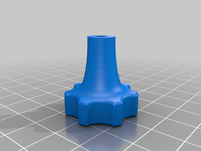 Bed leveling Knob, for short screw  (HEVO)