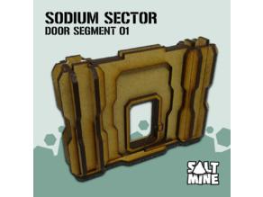 Sodium Sector - Door 01 (3mm - mdf - lasercut)