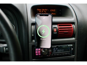 iPhone MagSafe dock for Opel/Vauxhall Astra G