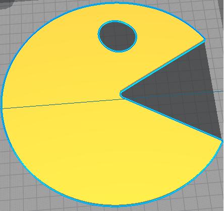 """""""PacMan-Palette"""" mixing palette"""