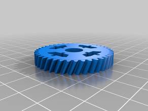 OpenRC F1 differential helicoidal gear