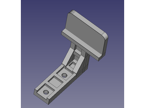 Serpent SRX8E LapMonitor transponder mount for 4S configuration