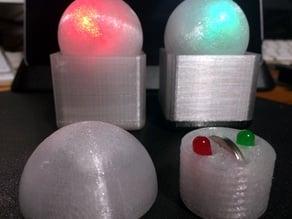 Single LED ball sphere remix