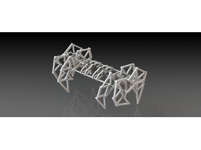 Fully 3D printed StrandBeest (Theo Jansen Mechanism)
