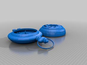 Steampunk Pocketwatch 2 [working lid]
