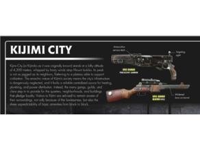 Star Wars Kijimi spice runners blaster ( PPSh-41 mod )