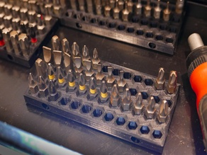 Bit Driver Tray Organizer - 4 x 12
