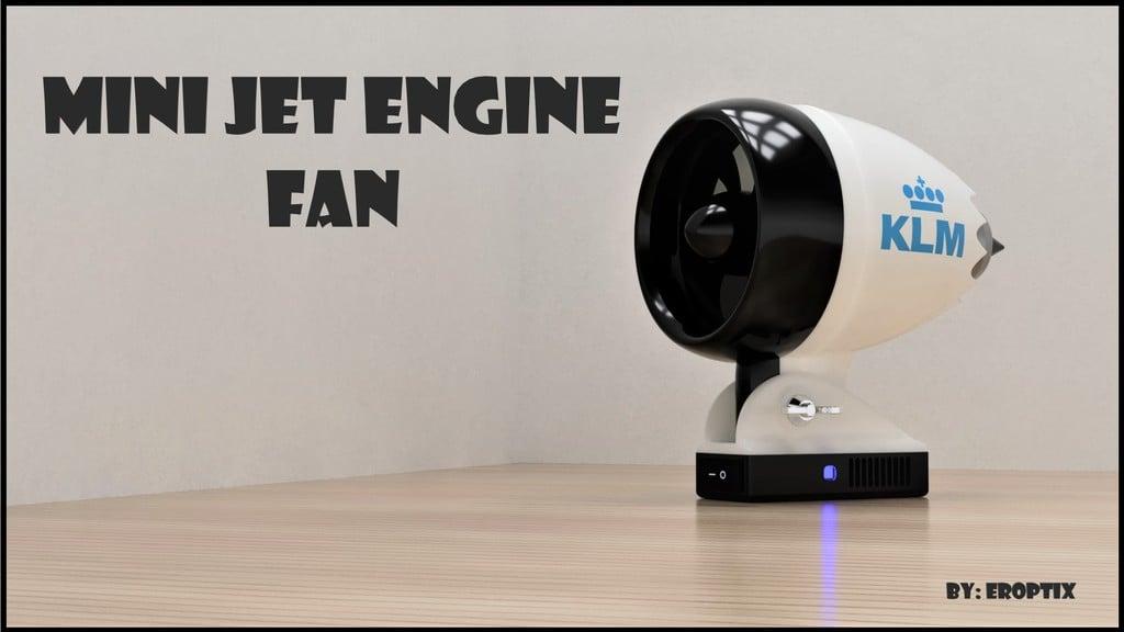 Mini Jet Engine Fan