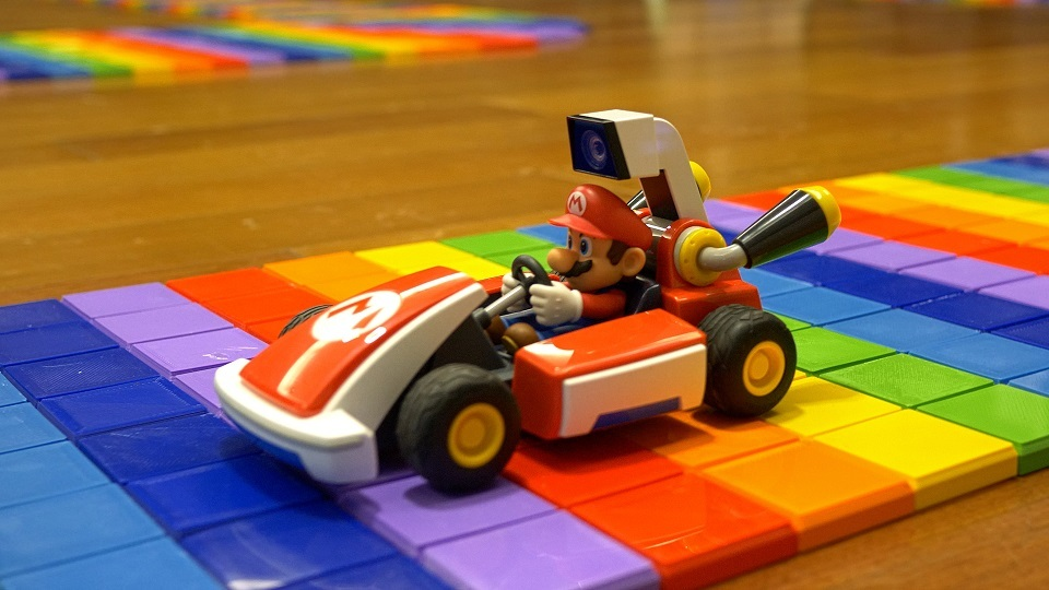 Rainbow Road (SNES) Race Track for Mario Kart Live