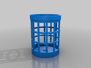 Fixed Tennant Cage For Lantern