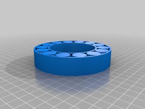 My Customized Parametric printed bearing openscad