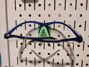 Pegboard Safety Glasses Holder w/ pegs - Wall Control