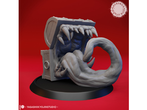 Mimic - Toothy Treasure Chest - Tabletop Miniature