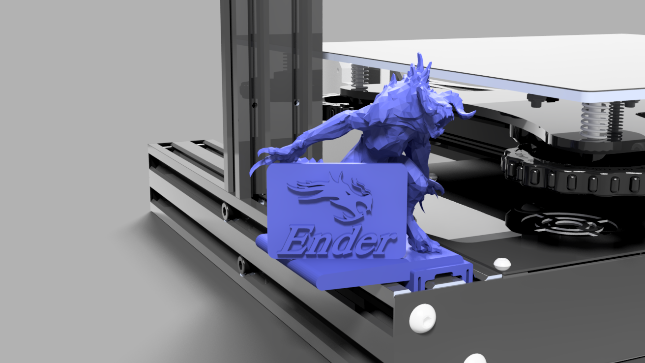 Fallout Deathclaw Ender 3 Ornament