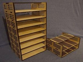 Laser-Cut Desktop Shelves
