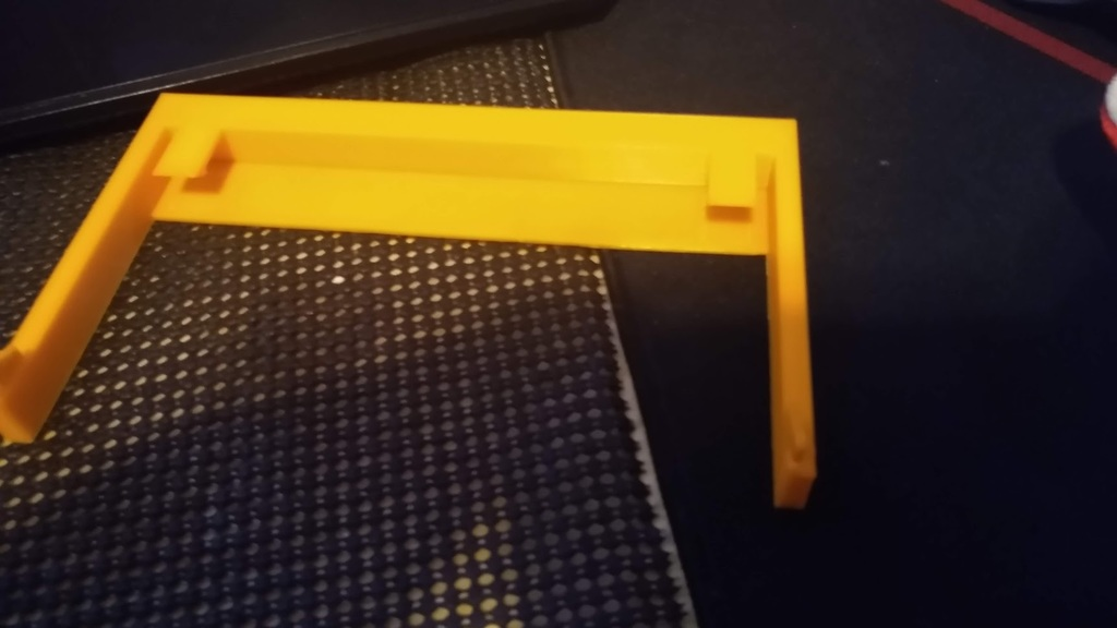 BeQuiet! Base 801 front plate top mounting (for custom plate)