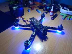 LED arm foot for racing drone (matek)